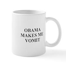Obama makes Me Vomit Mug