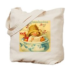 Thanksgiving Child Hostess Gift HUGE Tote Bag