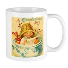 Thanksgiving Child Hostess Gift Coffee Mug