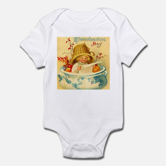 Thanksgiving Child Baby Shower Gift Bodysuit