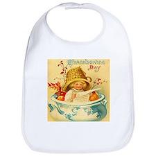 Thanksgiving Child Shower Gift Baby Bib