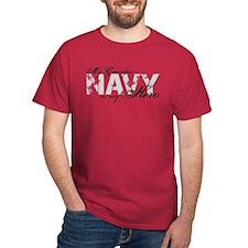Grandpa is my Hero NAVY T-Shirt