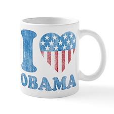 Vintage i Love Obama Mug