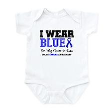 I Wear Blue Sister-in-Law Infant Bodysuit