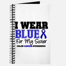 I Wear Blue Sister Journal