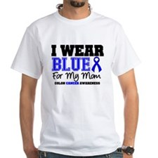 I Wear Blue Mom Shirt