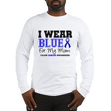 I Wear Blue Mom Long Sleeve T-Shirt