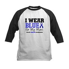 I Wear Blue Mom Tee