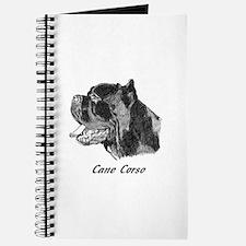 Cute Cane corso Journal