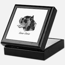 Cute Cane corso Keepsake Box