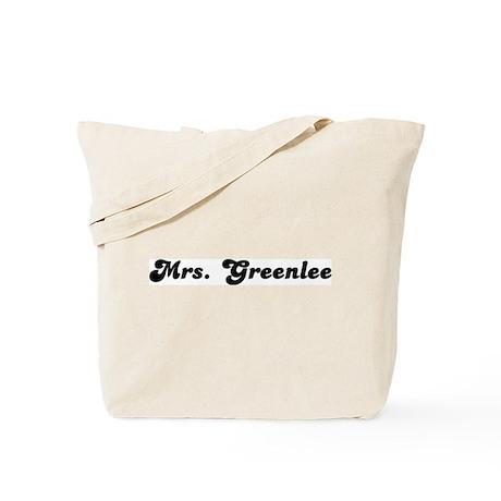 Mrs. Greenlee Tote Bag