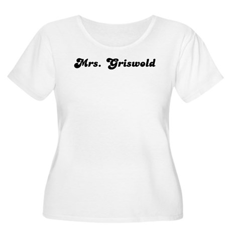 Mrs. Griswold Women's Plus Size Scoop Neck T-Shirt