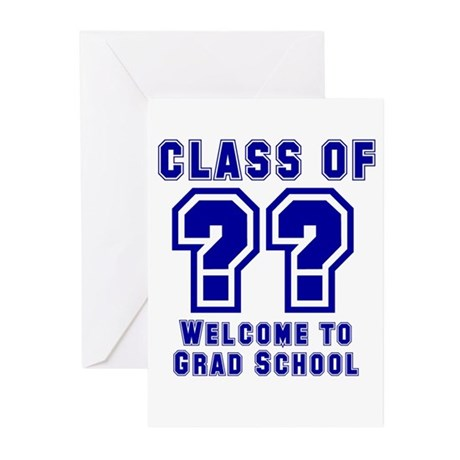 """Class of ?? Welcome..."" Greeting Cards (Pk of 20)"