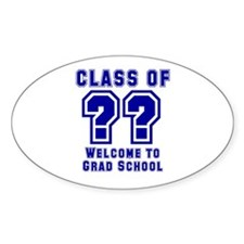 """Class of ?? Welcome..."" Decal"