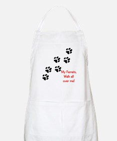 Walk all over me 2 BBQ Apron