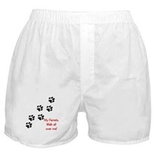 Walk all over me 2 Boxer Shorts