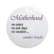 Cute Mother Ornament (Round)