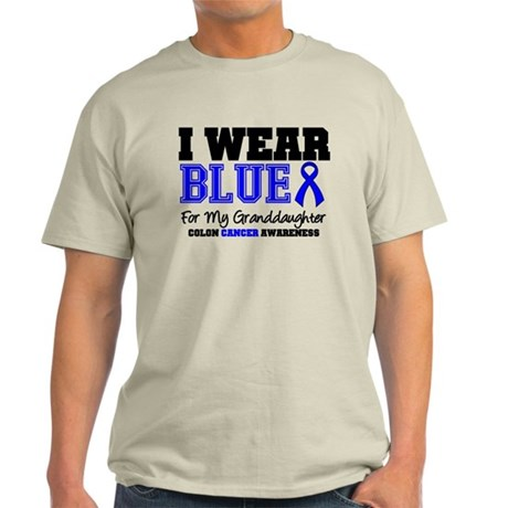 I Wear Blue Granddaughter Light T-Shirt