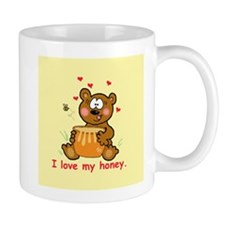 """I Love My Honey"" Mug"