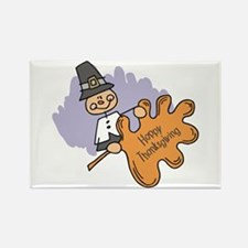 Thanksgiving Day Rectangle Magnet (10 pack)