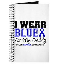 I Wear Blue Daddy Journal