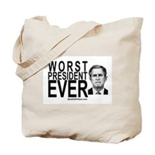 """Worst President Ever"" Tote Bag"