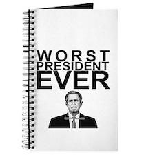 """""""Worst President Ever"""" Journal"""