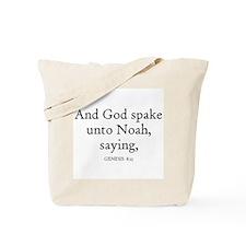GENESIS  8:15 Tote Bag