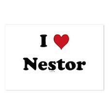 I love Nestor Postcards (Package of 8)