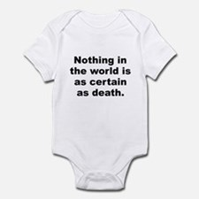 Jesus was a liberal jew Infant Bodysuit