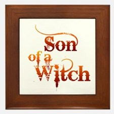 Son of a Witch Framed Tile