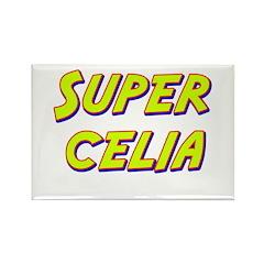 Super celia Rectangle Magnet