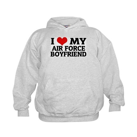You no longer need to worry about the bothersome attention of gentlemen coming up to you when you wear this I Love My Boyfriend personalized hoodie! Our % cotton customized sweatshirt keeps you warm and lets you express yourself at the same time. Plus size sweatshirts are available.