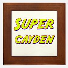 Super cayden Framed Tile