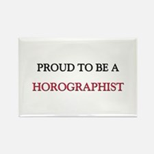 Proud to be a Horographist Rectangle Magnet