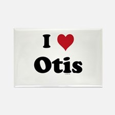 I love Otis Rectangle Magnet