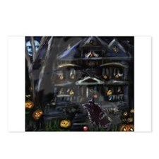 Haunted House Schipperke Postcards (Package of 8)