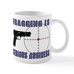 Serious Fragging Mug