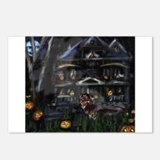 Haunted House Dachshund Postcards (Package of 8)