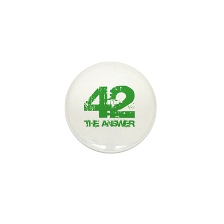 The Answer Is 42 Mini Button