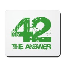 The Answer Is 42 Mousepad