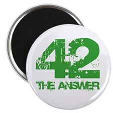 """The Answer Is 42 2.25"""" Magnet (10 pack)"""