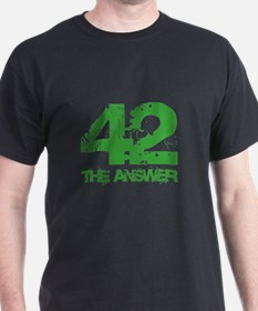 The Answer Is 42 T-Shirt
