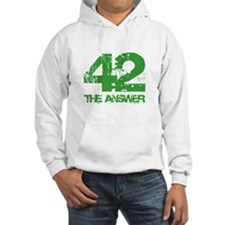 The Answer Is 42 Hoodie