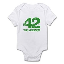 The Answer Is 42 Infant Bodysuit