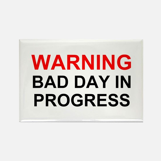Bad Day Rectangle Magnets (10 pack)