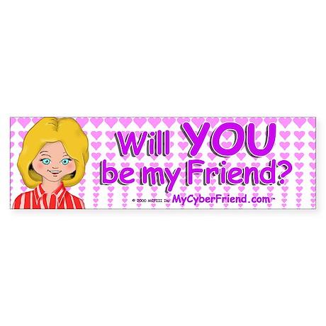 Cindy Bumper Sticker