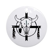 American Indian Shields Ornament (Round)