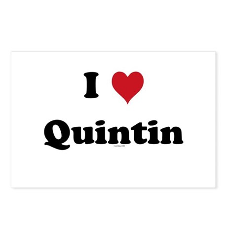 I love Quintin Postcards (Package of 8)