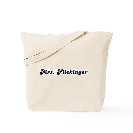 Mrs. Flickinger Tote Bag